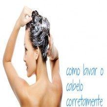 O jeito certo para lavar os cabelos