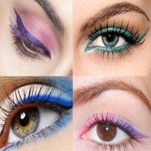 Delineador: maneiras de infundir mais cor ao seu olhar