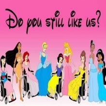 Princesas Disney Deficientes
