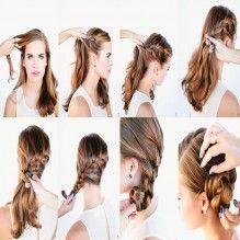 Penteado simples para você brilhar
