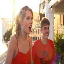 Justin preparou um tema contra Taylor