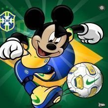 Vídeo de Mickey na Copa do Mundo