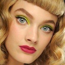 Truques de maquiagem pop para os olhos