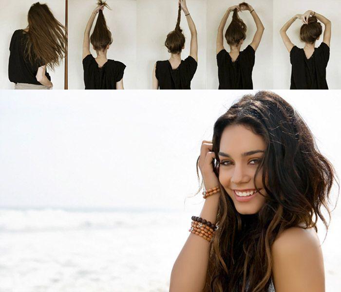 Como deixar o seu cabelo naturalmente ondulado